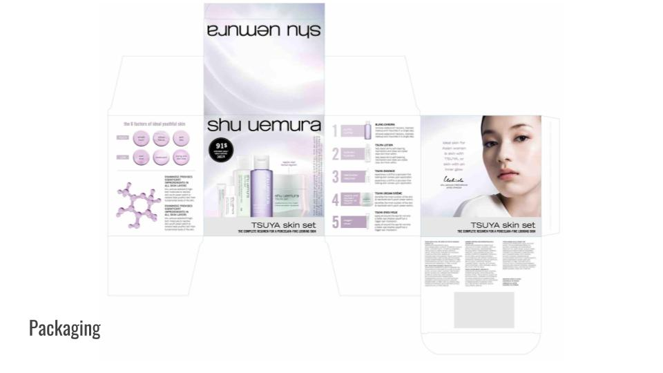 Product packaging copy for L'Oréal