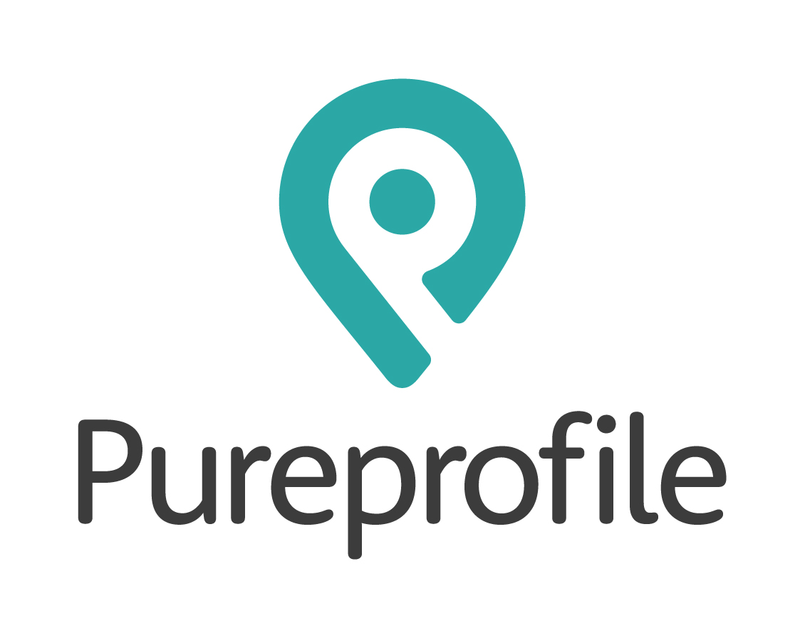 Pureprofile logo stacked RGB - Home