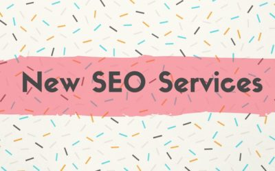 New Services: SEO Copywriting and SEO Audits